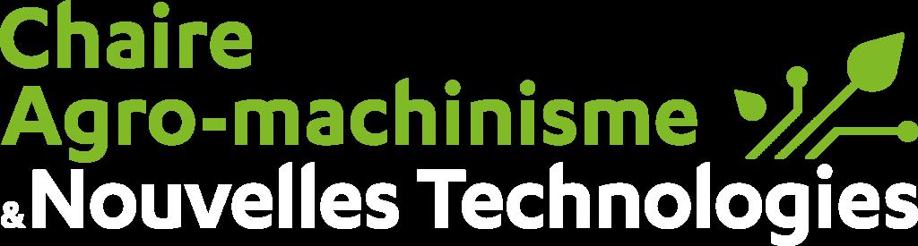 Chaire Agro-machinisme et Nouvelles Technologies