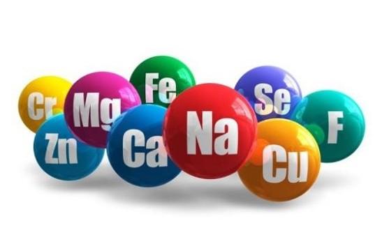 oligo-éléments sous forme de bulles